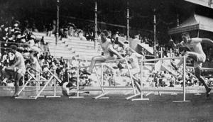 1912 épreuve du 110 mètres haies