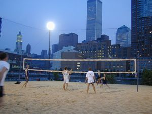 Beach Volley nocturne