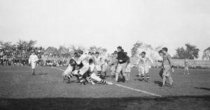 Les origines du football canadien