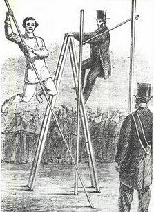 1861 les origines du saut à la perche