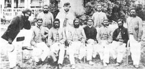 La première équipe aborigène australienne 1867