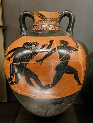 Peintre de Cléophradès athlétisme