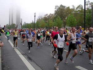 Francfort marathon 2004
