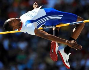 Champion France saut en hauteur