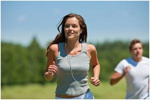 Running femme